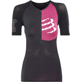 Compressport Triathlon Postural Aero Overdel Damer, black
